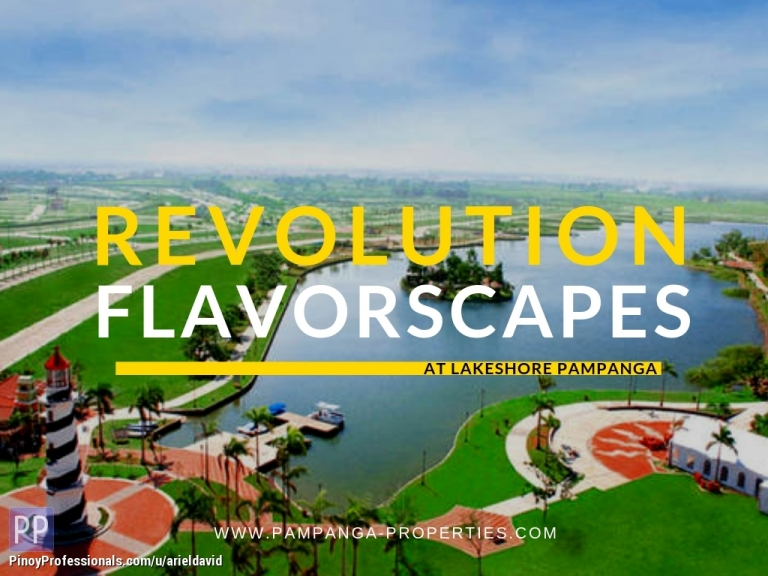 House for Sale - Revolution Flavorscapes at Lakeshore Pampanga