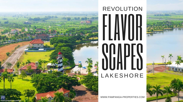 House for Sale - Flavorscapes by Revolution at Lakeshore Pampanga 60sqm