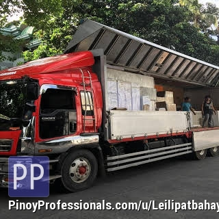 Moving Services - THE MOVERS LIPAT BAHAY AND TRUCKING SERVICES
