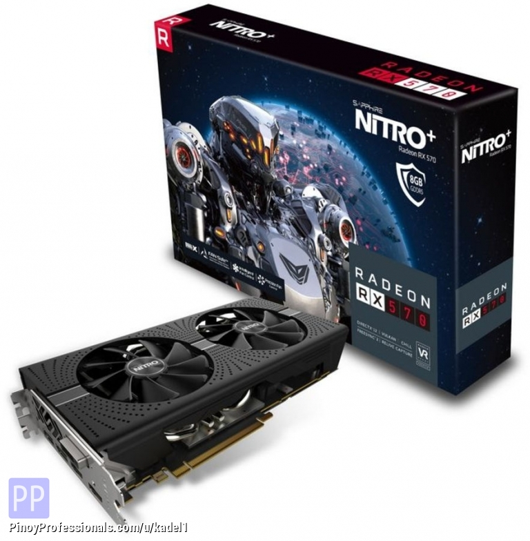 Computers and Networking - New Sappire Radeon Nitro+ rx480/rx470/rx580/rx5708GB And Other Model Available.chat+12296381207