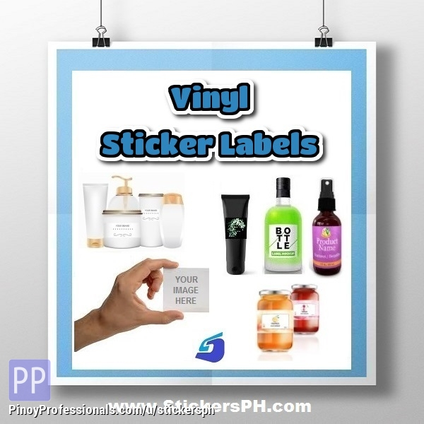 graphic relating to Printable Vinyl Labels called Vinyl Sticker Label Printing Philippines - Clifieds