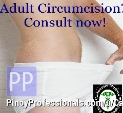 Health and Medical Services - Adult Circumcision Consultation and Treatment in QC