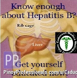 Health and Medical Services - CHRONIC HEPATITIS B Consultation and Treatment in Quezon City