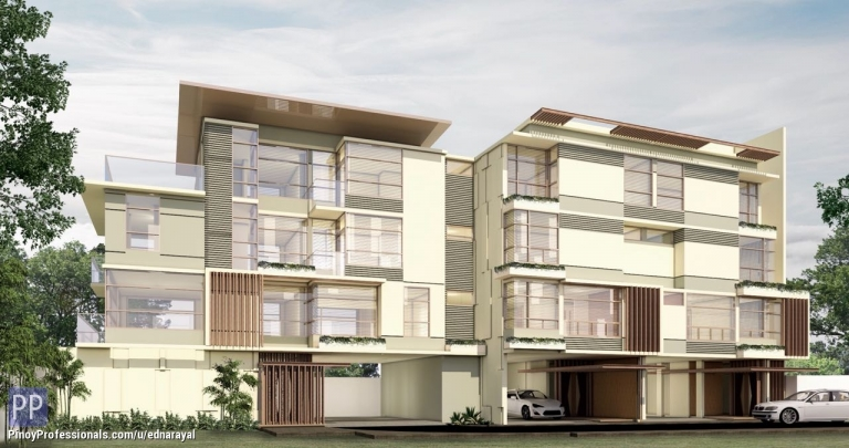 House for Sale - 4 STOREY HIGH-END TOWNHOUSE IN SAN JUAN NEAR SANTOLAN PLAZA AND ACCESSIBLE TO GREENHILLS AND NEW MANILA
