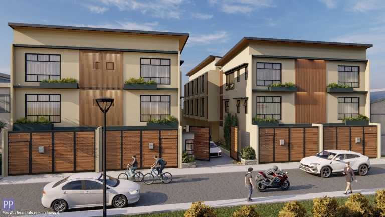 House for Sale - 3-STOREY 3-BEDROOMS TOWNHOUSE FOR SALE IN CUBAO NEAR ALIMALL AND SM CUBAO