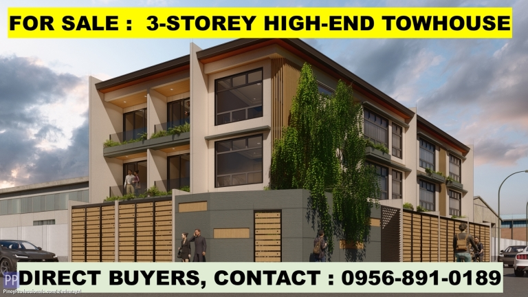 House for Sale - TOWNHOUSE FOR SALE IN MANDALUYONG. FLOOD-FREE LOCATION