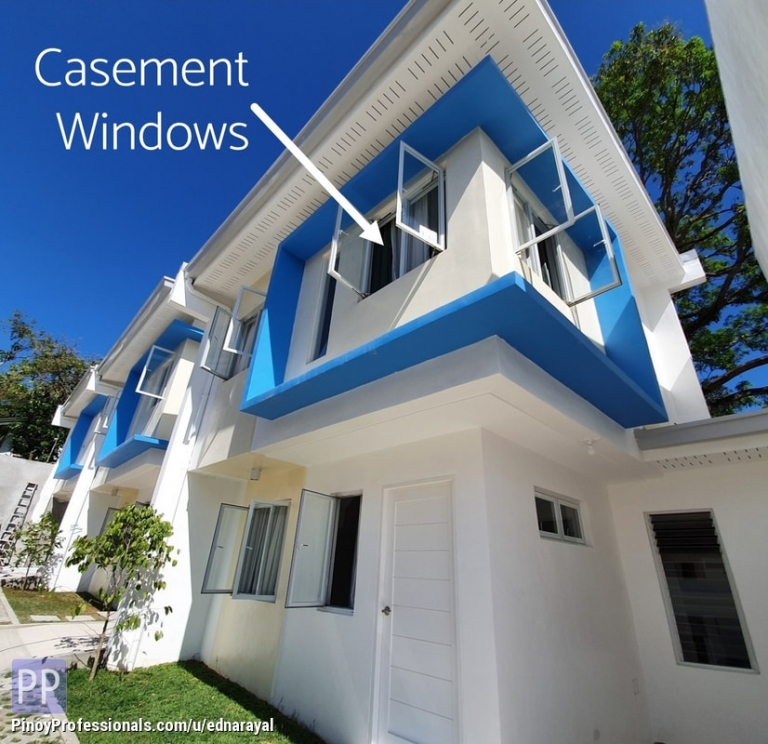 House for Sale - 2-STOREY 3BR ECO-FRIENDLY HOUSE IN AMPARO VILLAGE NEAR MRT-7 SCARED HEART STATION. 1 RIDE TO SM FAIRVIEW