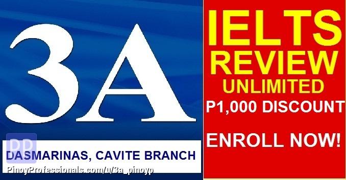 Education - IELTS REVIEW - Dasmarinas Cavite