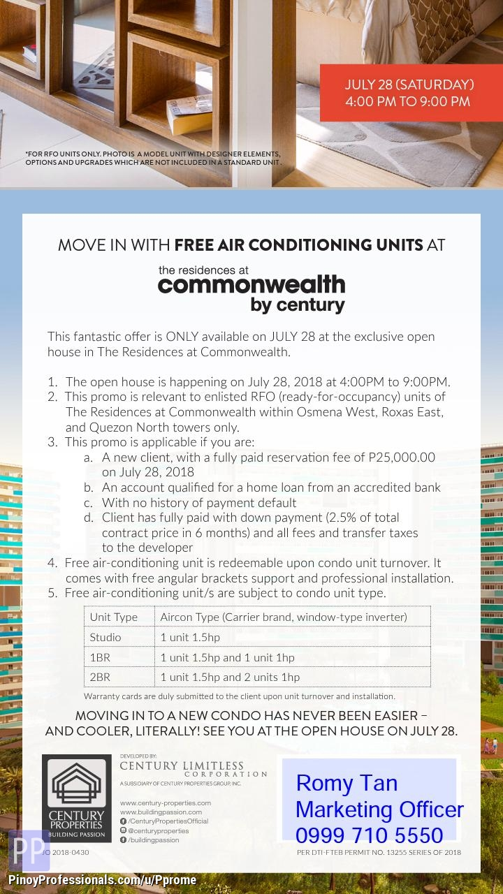 Apartment and Condo for Sale - residences in commonwealth by century