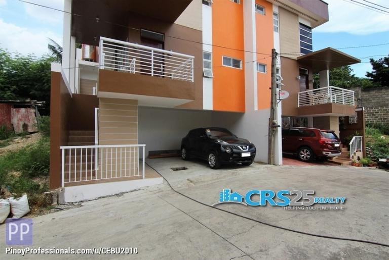 House for Sale - For Sale 4 Bedroom House in 88 Hillside Residences Mandaue Cebu