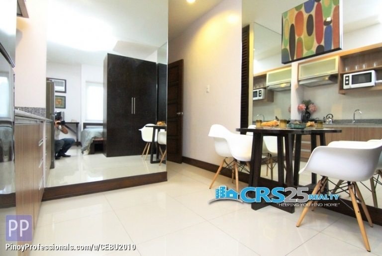 Apartment and Condo for Sale - Available Studio unit in Grand Residence Cebu City
