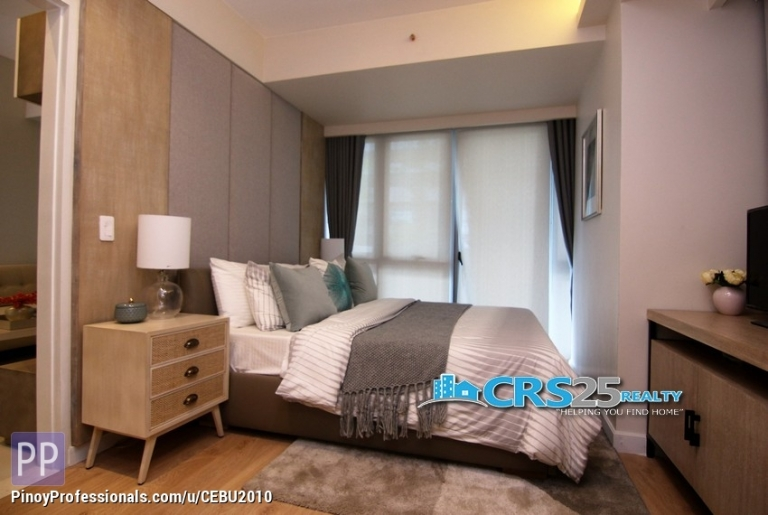 Apartment and Condo for Sale - 1 Bedroom Condo Unit in 38 Park Avenue Cebu, For Sale