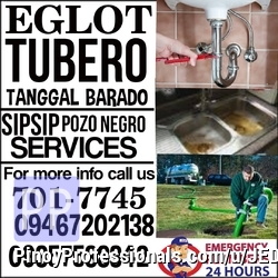 Business and Professional Services - PASIG CITY AREA TUBERO SERVICES 701-7745 09467202138 09357538342