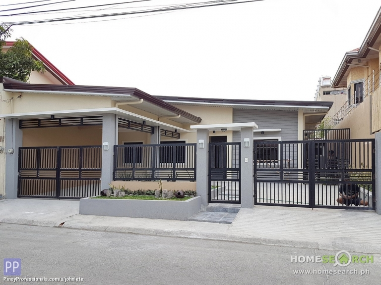 House for Sale - Pilar Village, Las Pinas: Newly-renovated Bungalow