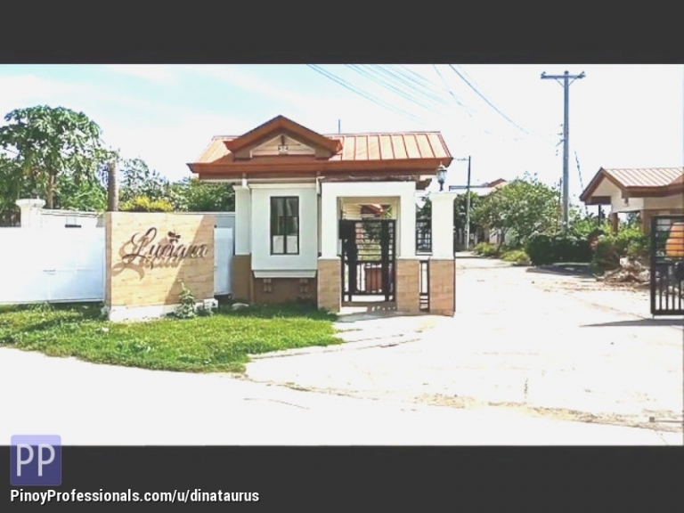 House for Sale - Luciana Homes Affordable 2-Storey Townhouse Semi-Finished Unit Gabi, Cordova