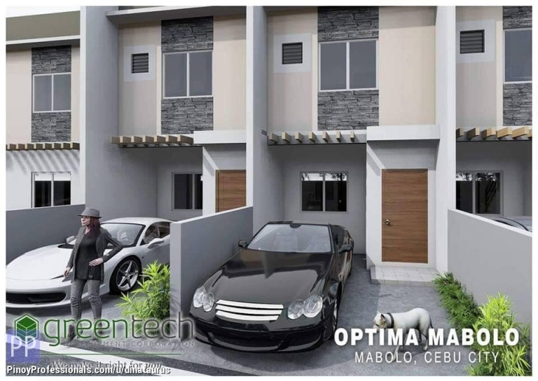 House for Sale - 3 BR 1Carport 2TB Townhouse in Optima Mabolo Cebu City