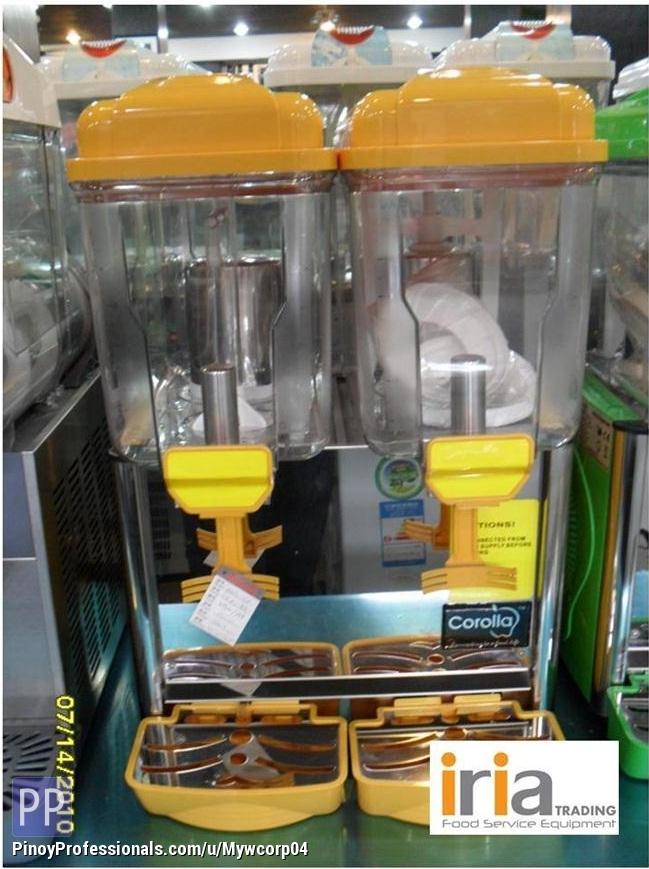 Everything Else - Juice Dispenser 2tubs (Brand Corolla) Brand New