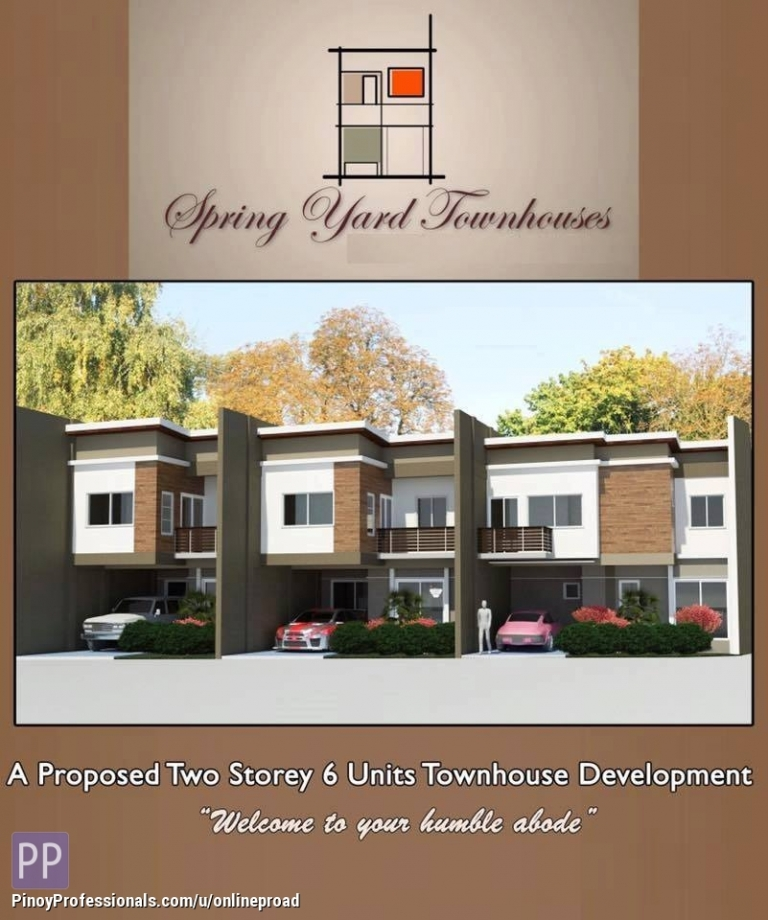 House for Sale - The Spring Yard Townhouses Tisa Cebu City