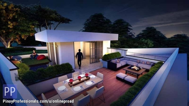 House for Sale - Overlooking Modern House with pool and elevator in Cebu City