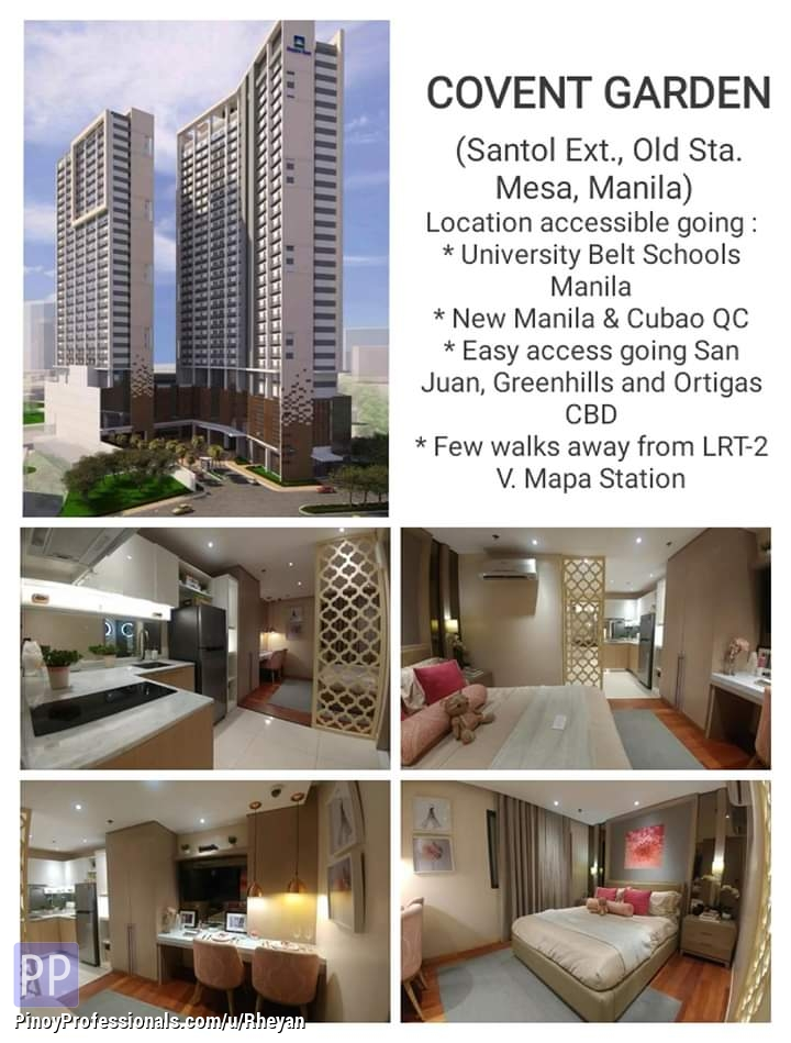 Apartment and Condo for Sale - Pre-selling