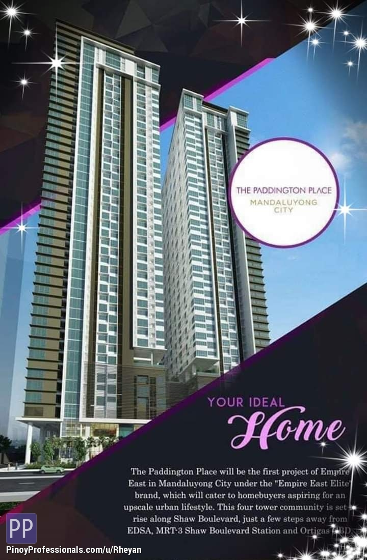 Apartment and Condo for Sale - Pre selling / paddingtone place