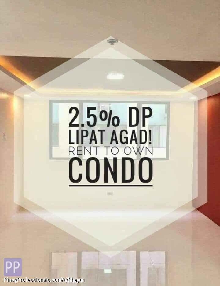 Apartment and Condo for Sale - Rent to own condo ( ready for occupancy )