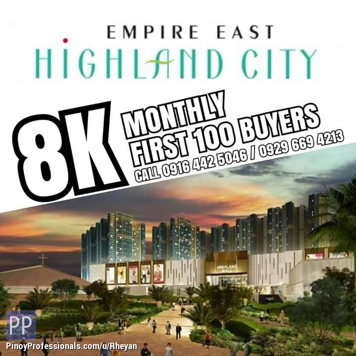Apartment and Condo for Sale - Rent to own (pre selling)
