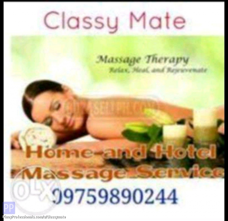 Beauty and Spas - Classy Mate Massage for Him