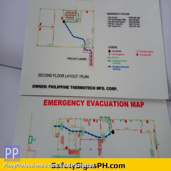 Everything Else - Glow in the Dark Safety Signs and Stickers Philippines