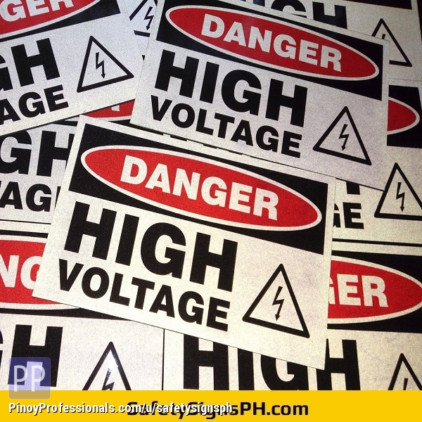 Business and Industrial - Reflective Safety Signages & Stickers Philippines - Nationwide Delivery