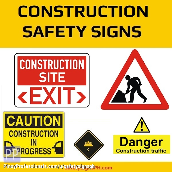 Everything Else - Construction Signs Philippines – Nationwide Delivery