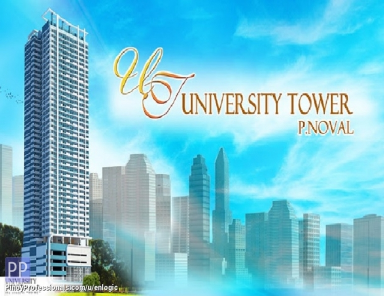 Apartment and Condo for Sale - University Tower P. Noval by Prince Jun Development Corporation, Condo in Sampaloc Manila