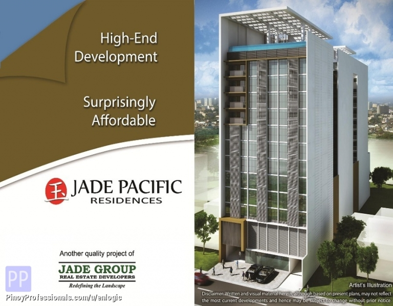 Apartment and Condo for Sale - Jade Pacific Residences, Condo in Quezon City by Jade Pacific Holdings