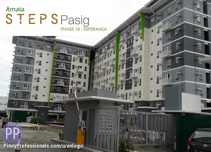 Apartment and Condo for Sale - Amaia Steps Pasig, Condo in Mercedes Avenue Near La Consolation College Pasig City by Ayala Land