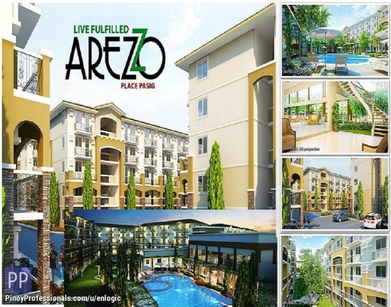 Apartment and Condo for Sale - Arezzo Place, Affordable and Ready Condo in Sandoval Avenue near Pasig City by Phinma