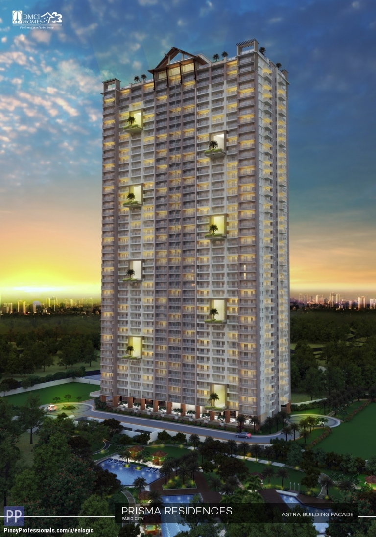 Apartment and Condo for Sale - Prisma Residences, Condo in Shaw Boulevard near C5 Road Bagong Ilog, Pasig City by DMCI