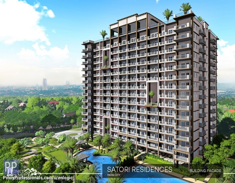 Apartment and Condo for Sale - Satori Residences, Condo in Pasig near Eastwood by DMCI Homes