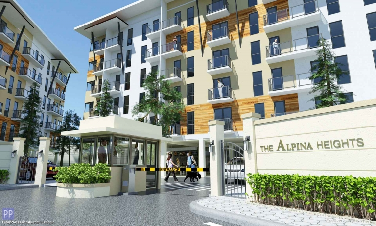 Apartment and Condo for Sale - The Alpina Heights, Condo in West Service Road, Parañaque City near Pasay