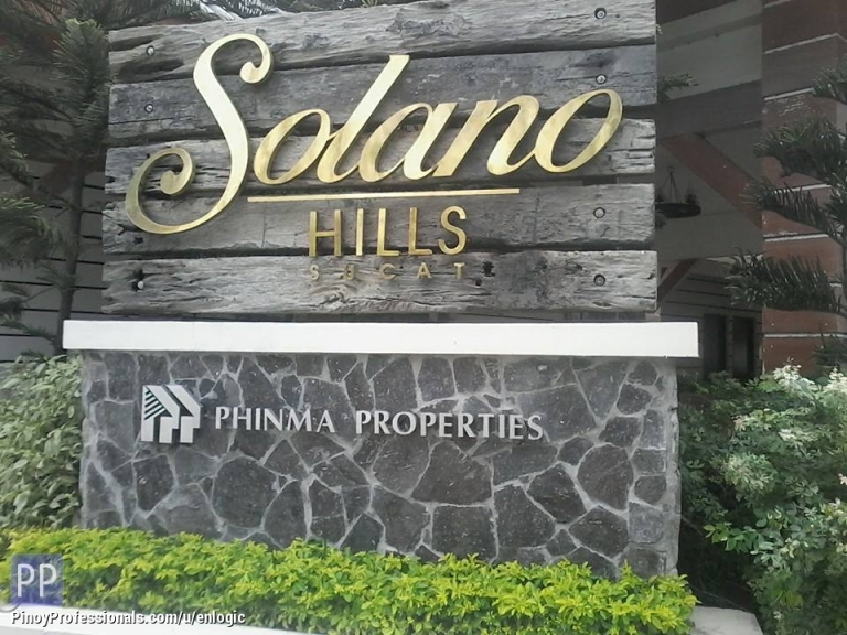Apartment and Condo for Sale - Solano Hills, Condo in Sucat, Muntinlupa City by Phinma Properties