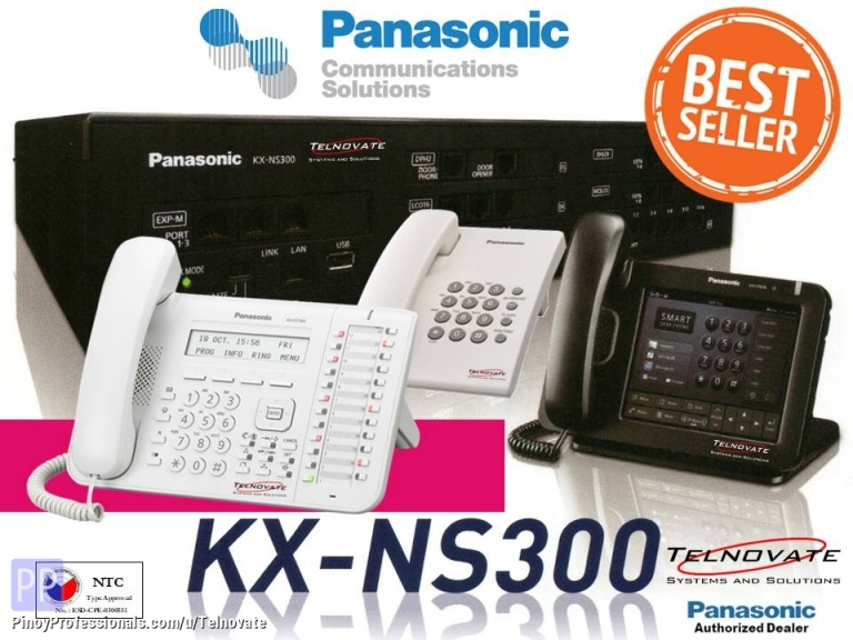 Business and Industrial - Panasonic KX NS300 PABX Supplier and Installer PBX Intercom Telephone Services