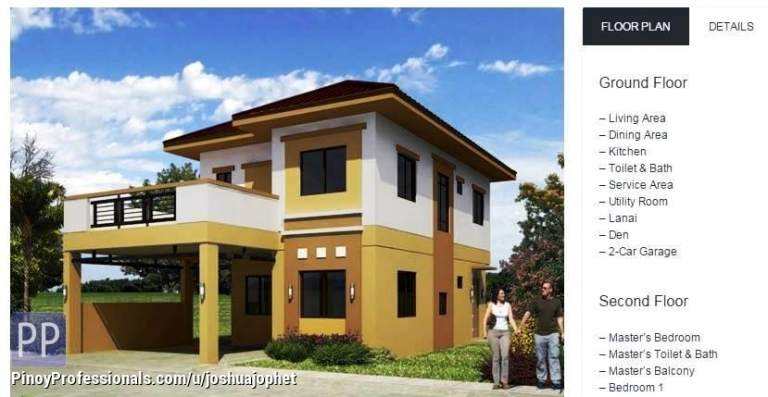 House for Sale - 240sqm, 4 bedroom 3 toilet&bath house and lot for sale (AURORA) @ Metrogate Tagaytay Estates