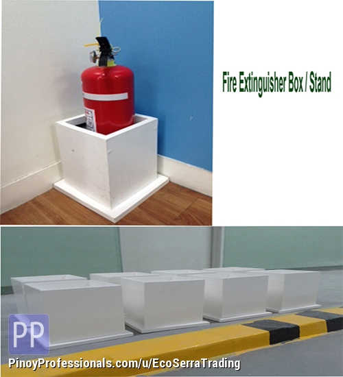 Specialty Services - Fire Extinguisher Stand / Box