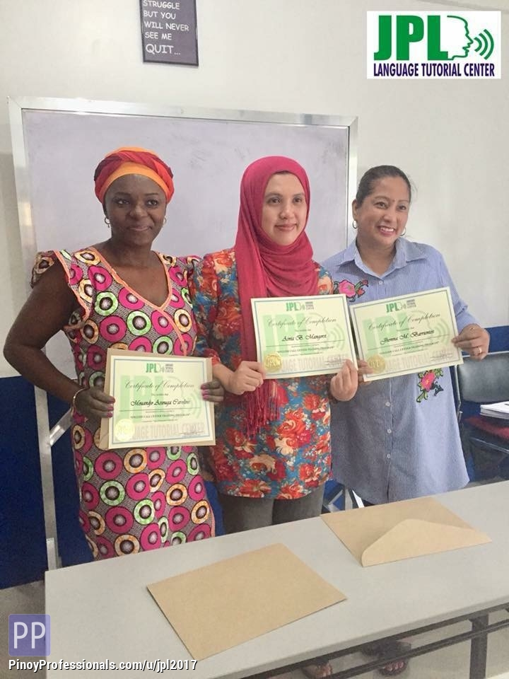 Education - English Call Center Training