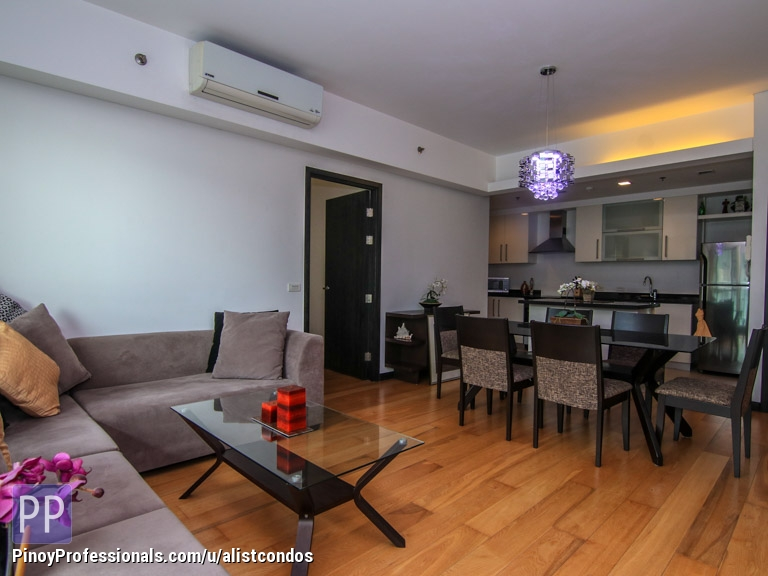 Apartment and Condo for Sale - Pacific Plaza Tower Fort BGC 3 bedrooms Condo unit for Sale