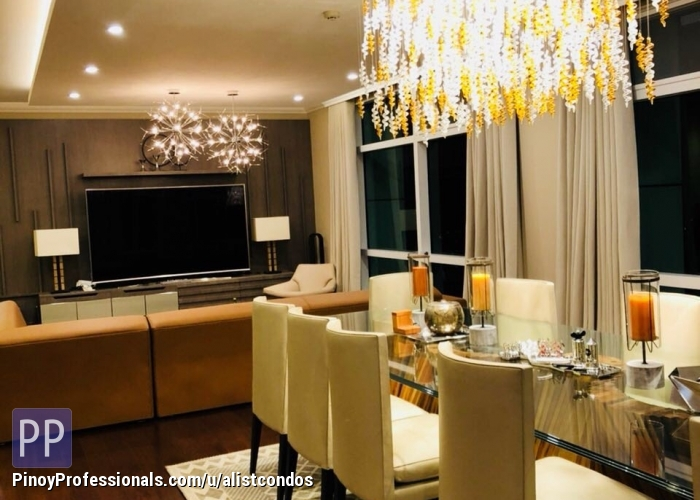 Apartment and Condo for Sale - Renovated 3 bedrooms 303 sqm high floor Condo unit for Sale