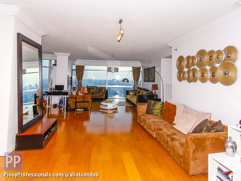 Apartment and Condo for Sale - Furnished 305 sqm 3 bedrooms nice high floor Condo unit for Sale