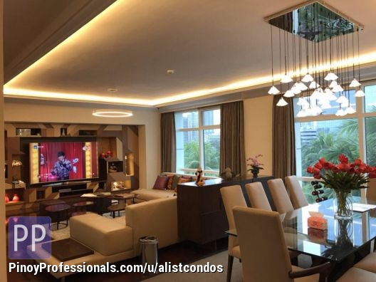 Apartment and Condo for Rent - New semi furnished 3 bedrooms 262 sqm Condo unit for Rent