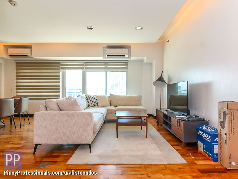 Apartment and Condo for Sale - High floor fully furnished 305 sqm 3BR Condo unit for Sale