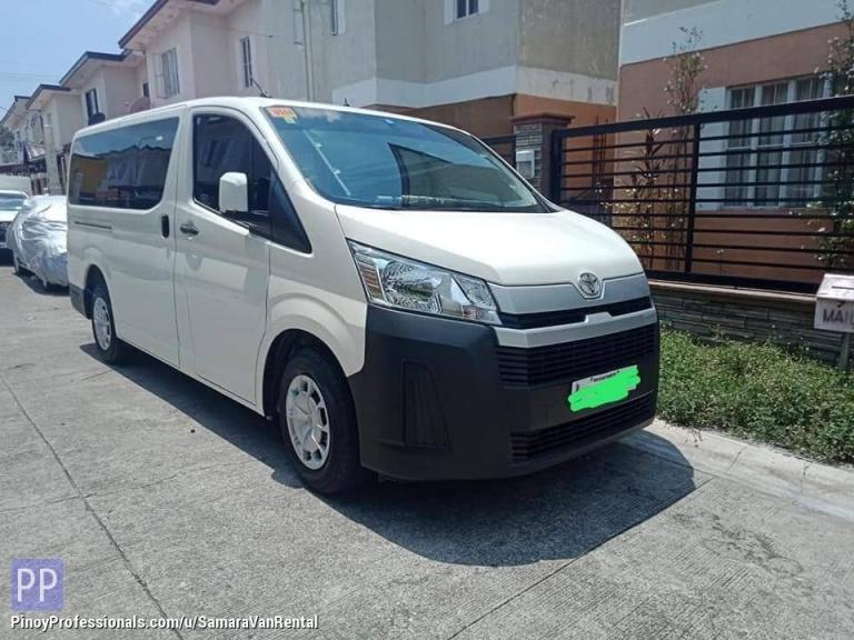 Car Rental - Van for Rent Cavite