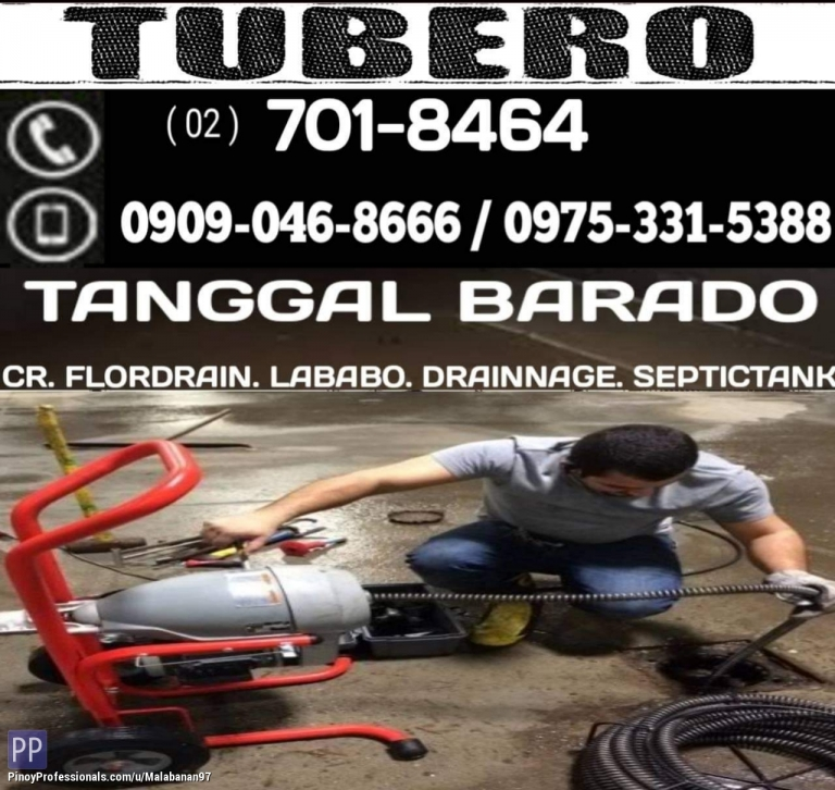 Business and Professional Services - TUBERO TANGGAL BARADO PASIG CITY 09090468666 09753315388 7018464 CONTACT US FOR INQUIRIES